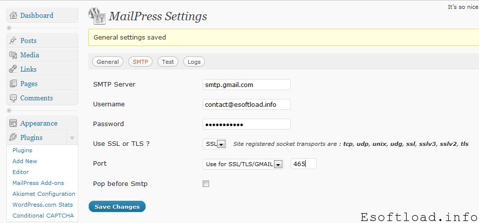 Free Newsletter System For Wordpress