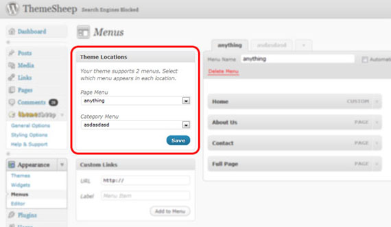 multiple-menus