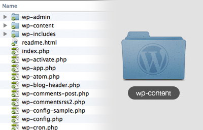 wp-content-folder