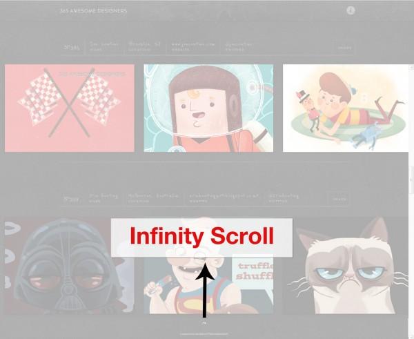 Infinite-Scrolling