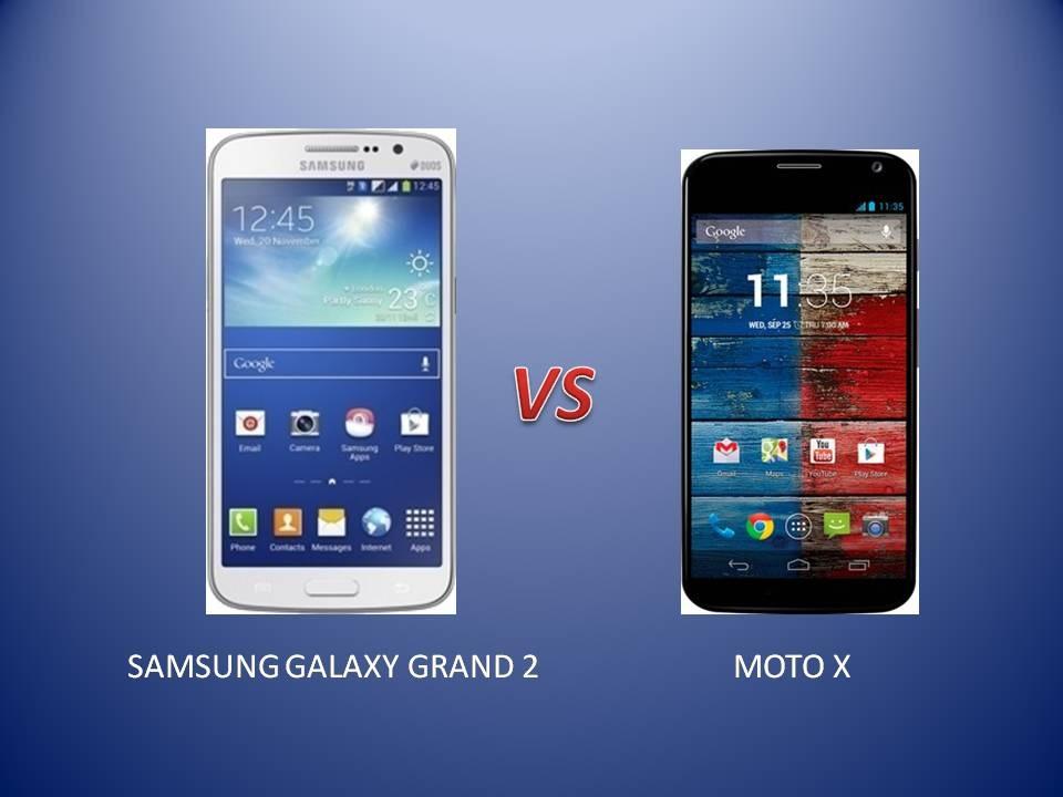 GRAND 2 vs MOTO X