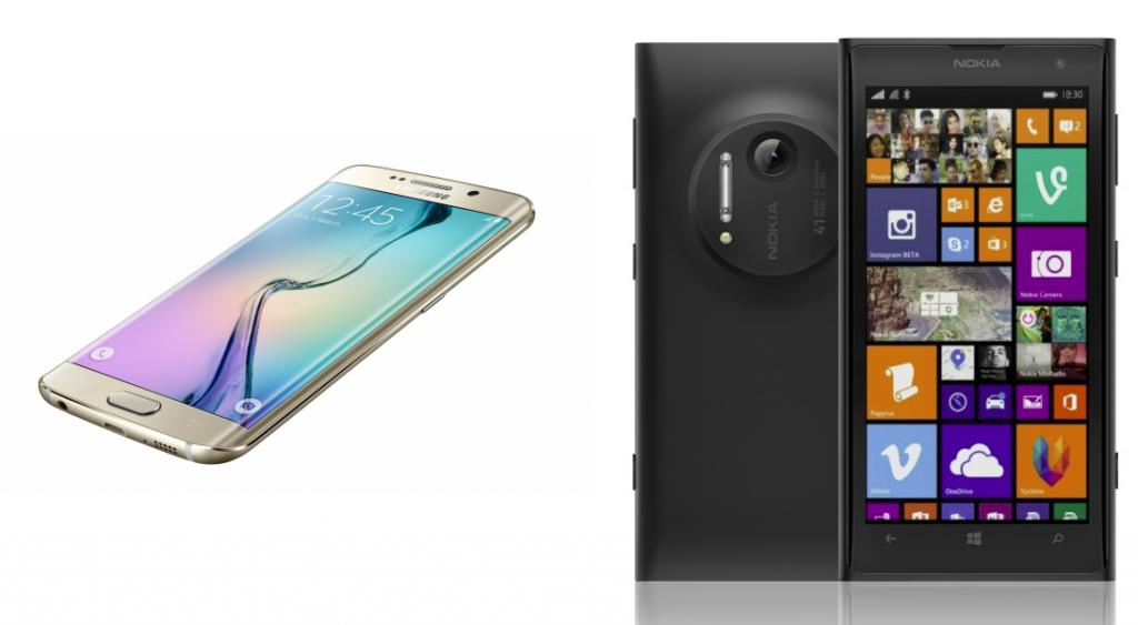 Galaxy Note Edge vs Microsoft Lumia 1030